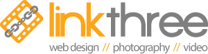 Link Three Media | Professional Media Production in Toronto and GTA Logo